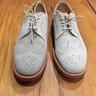 Mark McNairy Stone Suede Longwing Brogue US 9