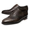NWOB JOHN LOBB CITY II DARK BROWN CAPTOE US SIZES 7, 8, 8.5, 9, 9.5, 10, 10.5, 11 AND 12