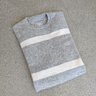 CLUB MONACO 100% Cashmere Striped Sweater - XS