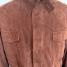 Loro Piana Mens Suede Traveller Jacket - Size 58