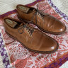 Alden PTB Whiskey Shell Cordovan Brass Eyelets 10.5E (wide) Barrie