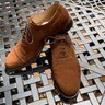 Vass Suede Captoe Shoes