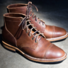 *SOLD* VIBERG Crust Horsehide Service Boots. Viberg/UK 10.5, US 11.5. VERY Good Condition