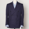 Kingsman x Mr Porter Navy Blue DB Sport Coat EU52 US42