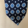 Banana Republic Navy Floral Silk Tie [pre-owned]