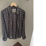*Sold* Brooks Brothers Milano Fit Cotton Cashmere Braemar Tartan Sport Shirt