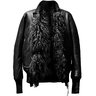 Isaac Sellam Reversible Llama Fur Shearling Bomber Jacket M, L