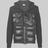 CP Company Hooded Lens Down Jacket Knit Mixed IT50/M-L