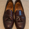 Crockett & Jones Burgundy Cordovan Cavendish Tassel Loafer (UK7.5) - $250