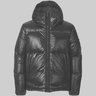 Stone Island Pertex Quantum Y Hooded Down Jacket Puffer Blue M