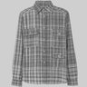 MISSONI Madras Cotton Tweed Shirt M