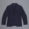$950 Montedoro Incotex Cotton Navy Blazer Jacket: 40R 50EU