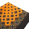 Orange Wool Pocket Square | Ancient Madder | Vintage Style
