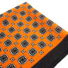 Orange Pocket Square Ancient Madder | Men's Wool Handkerchief | Pocket Square for Men