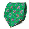 Green Floral Tie | Paisley Pattern Necktie | Men's Suit Fashion | Menswear