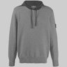 Stone Island Shadow Project Bicolor Wool Hoodie Sweater S