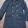 Rag & Bone Navy Double Breasted Military Overcoat, 42