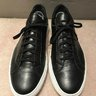 Common Projects Achilles Low Sneakers - Black w/ White Sole Size 42 - SOLD!