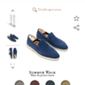 Loro Piana blue summer walk EU40, vgc