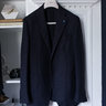 SOLD BNWOT Eidos Tenero Staple Navy Hopsack Blazer, tagged 54, fits 52/42