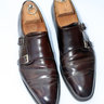 SOLD Shell Cordovan Double Monks