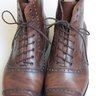 *Price drop* Cliff Roberts brown balmoral boots 8E UK