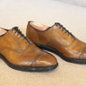 Allen Edmonds Fifth Avenue in Bourbon Dainite - Size 10