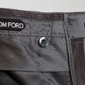 Tom Ford gray cotton/cashmere corduroy trousers Size 50 US 34