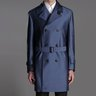 Rare BRIONI Trench Coat NEW w TAGS size XXL (slim fit) $4,000
