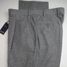SOLD! PRICE DROP! NWT Giab's Handmade Mid Gray Micro Plaid Check Flannel Wool Dress Pants Size 34