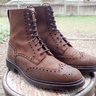 SOLD! Crocket and Jones Islay Rough Out Boots US 8.5D