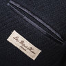 SOLD - LBM Loose Hopsack Polo Overcoat, Navy, size 50R