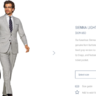 $639 *NWT CURRENT MODEL* Suitsupply Sienna 38S Light Grey Suit (Super 130s ITALIAN Wool)