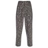 SOLD | PAUL SMITH High Waisted Pleated Pants Grey Linen Dot Print NEW 30-31