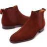 NEW Edward Green 10.5E UK / 11D US Clove Brown Suede Chelsea Boots (Camden Model)