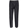 ENDED | ISAIA Pleated Side Stripe Grey Silk Dress Pants NEW IT50