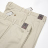 "N°2 pairs of BNWT Zanella Pleated Khaki Cotton Chinos Pants ""Nick"" Fit - Size 54 and 56 - LAST PAIR"
