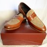 BNIB To Boot New York two-tone loafers 9.5 Made in Italy