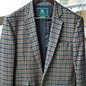 Beretta Wool Gun Club Check Sport Coat Jacket Blazer Size 38
