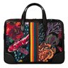 SOLD❗️PAUL SMITH Briefcase Business Folio Black Ocean Print Canvas Bag