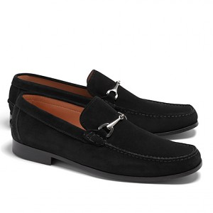c42be9e57db Brooks Brothers Suede Buckle Loafers