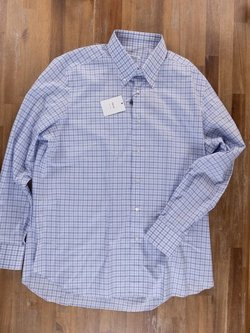 FRAY button-down shirt - Size 44 / 17.5 - NWT