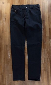 CESARE ATTOLINI navy blue chinos - Size 34 - NWT