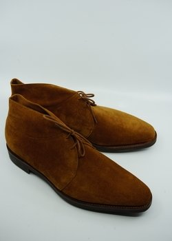 New in Box John Lobb Romsey II Brown Suede UK 10 / EU 44