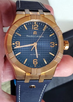 New Maurice Lacroix Aikon Automatic Bronze 42mm Limited Edition AI6008-BRZ01-420-1