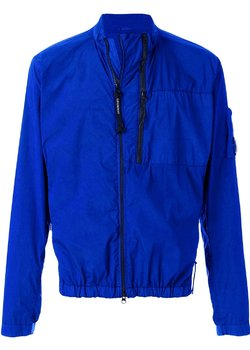 CP COMPANY Reflective Nycra Lens Jacket Blue IT50/L