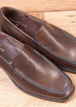 NIB Crockett Jones Loafer size UK 6.5E US 7D