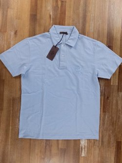 CHURCH'S light blue cotton polo shirt - Size Small - NWT