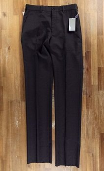RALPH LAUREN PURPLE LABEL charcoal wool trousers - Size 30 US - NWT