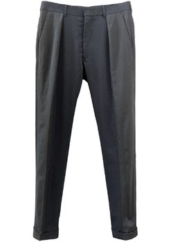 SOLD❗️PAUL SMITH Slim Pleated Bi-Color Stretch Wool Pants 30